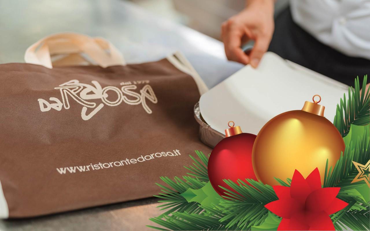 Ristorante Sacchetto Menu Di Natale.Ristorante Pizzeria Da Rosa Pranzo Di Natale A Casa Prenota Il Nostro Menu D Asporto