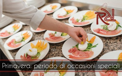 A new spring proposal for the menu of your special occasions