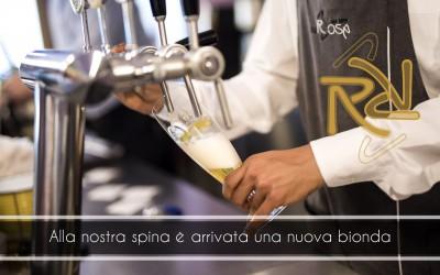 Birra chouffe alla spina del ristorante da rosa